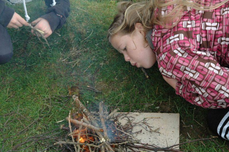 Children fire