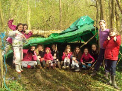 Woodland explorer group
